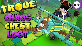 TROVIAN TRIPLE ACE 'PREMIUM' AIRPLANE MOUNT!! ✈️ Trove Top Weekly Chaos Chest Loot