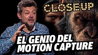 Así es Cesar de El planeta de los Simios en la vida real : Andy Serkis
