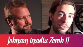 Star Wars - Rian Johnson insults Mike Zeroh !
