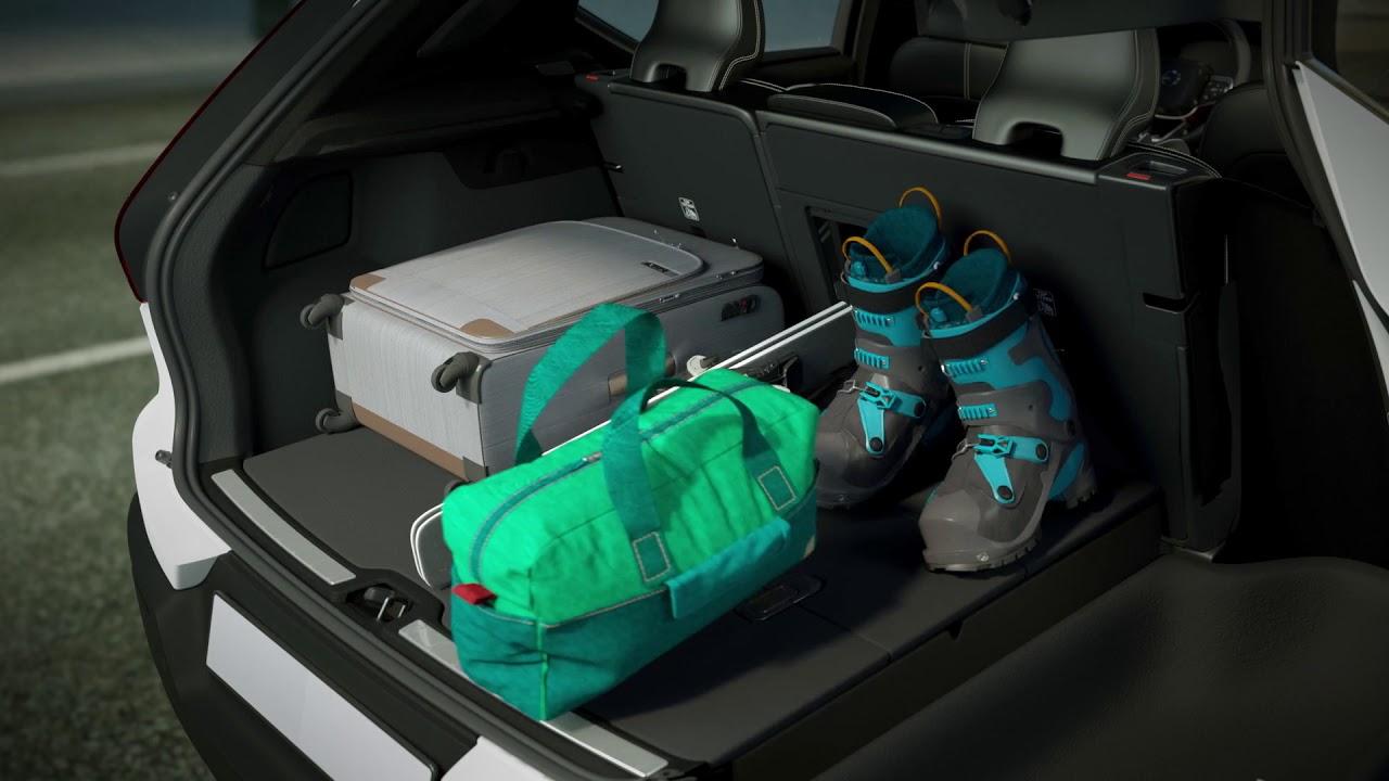 Volvo XC40 Foldable Cargo Floor and Storage