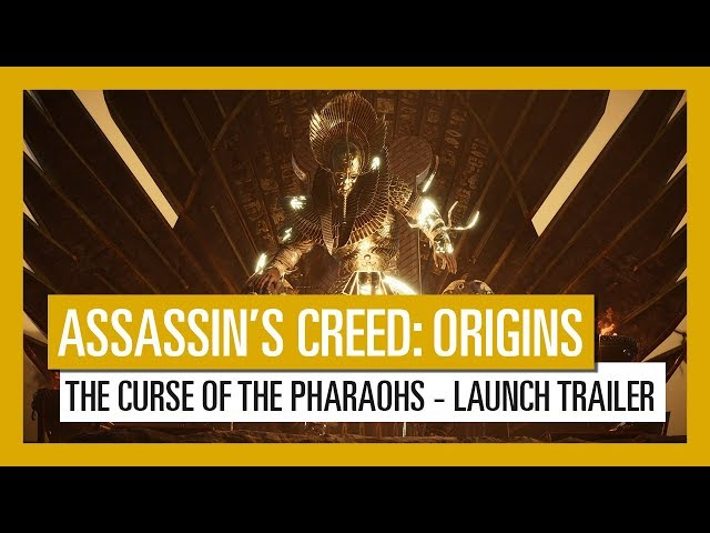 UPDATE] Assassin's Creed Origins Curse of the Pharaoh DLC New 4K