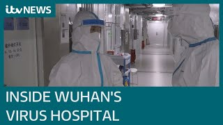Wuhan coronavirus hospital deconstruction set to begin | ITV News