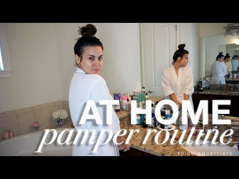 At Home Pamper Routine | Nicole Guerriero thumbnail