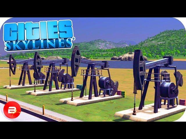 Cities: Skylines - Oil & Ore Infrastructure Ep12 (Cities Skylines Industries)