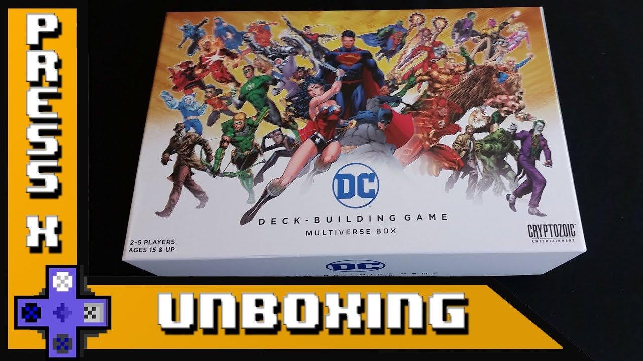 DC Deck-Building Game   Cryptozoic Entertainment