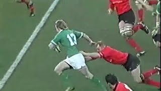 Brian O'Driscoll rugby masterclass vs Wales 2004