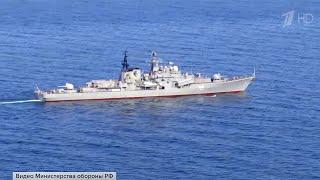 В Японском море прошли масштабные учения сил Тихоокеанского флота.