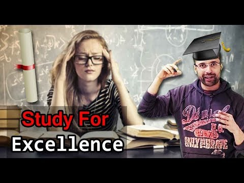 Study For Excellence Not For Success - Motivational Video By | Sandeep Maheshwari |