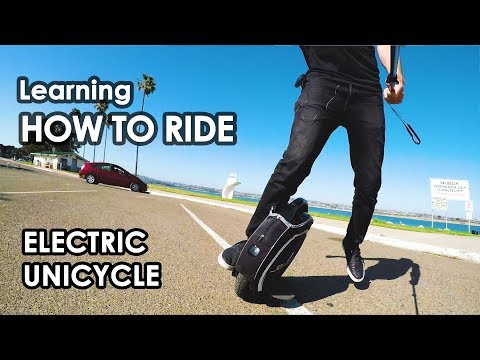 Learning How To Ride: Electric Unicycle