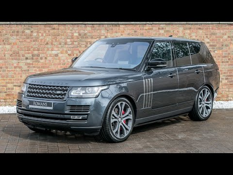 2017 Range Rover 5.0 SVAutobiography Dynamic - Bosphorus Grey - Walkaround & Engine Sound