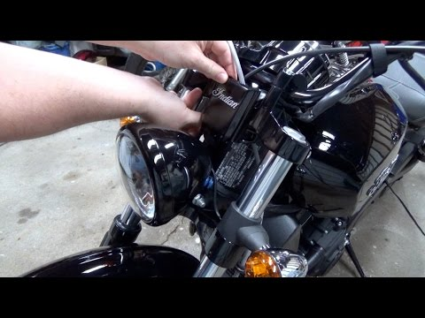 Project 2016 Indian Scout Sixty Part 2 (Factory Wire Cover Install)  YouTube