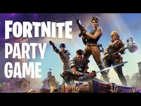 FUN FORTNITE Birthday Party Game