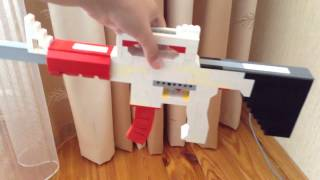 M4a1 из Lego (не СТРЕЛЯЕТ деталями)