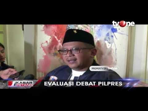 Evaluasi Debat Pilpres, KPU: Debat Berjalan Dengan Baik