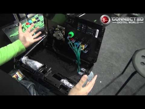 An Exclusive Look at the Razer Atrox Fight Stick for the Xbox 360 at MCM 2013
