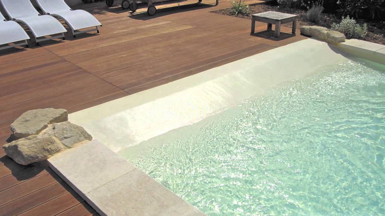 les abords de piscine en 2013 par piscine plage youtube. Black Bedroom Furniture Sets. Home Design Ideas