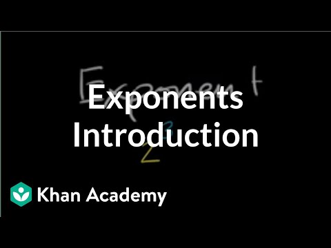 Introduction to exponents | Pre-Algebra | Khan Academy