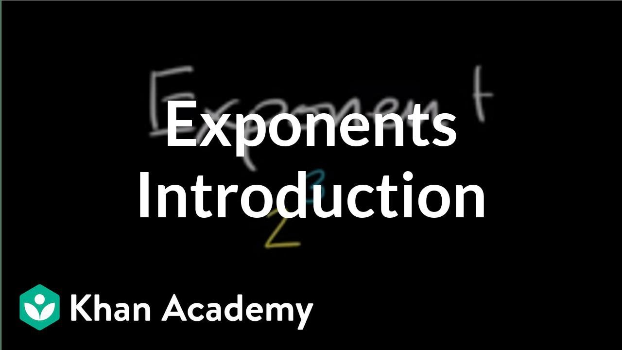 medium resolution of Intro to exponents (video)   Exponents   Khan Academy