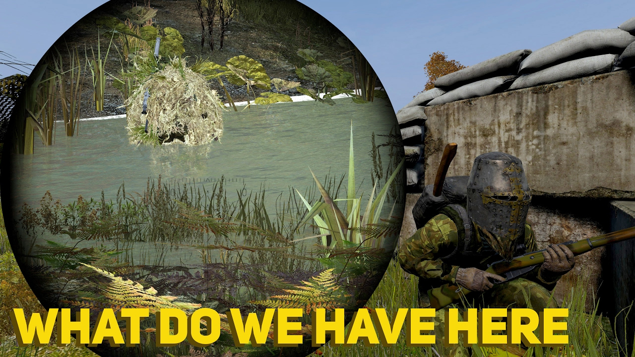 how to make a ghillie suit in dayz standalone