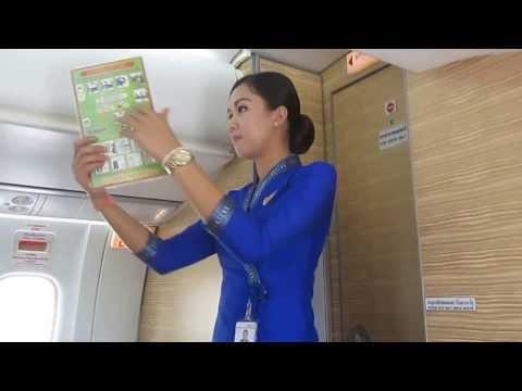 j'ai pris le vole ATR 72-500 pour Vientiane