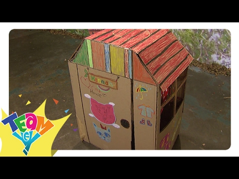 Artstig: Cardboard Doll House | Team Yey