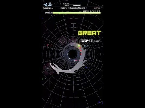 ouroboros -twin stroke of the end- [HARD] FULL CHAIN 【GROOVE COASTER 3EX】