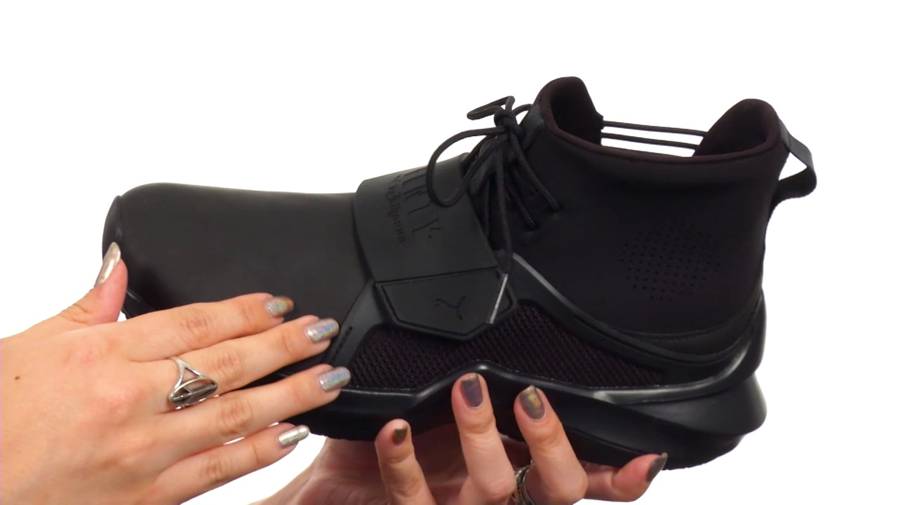 57f86e46aaa741 PUMA The Trainer Hi by Fenty SKU 8987907 - YouTube