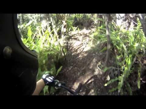 Mt. biking Kona, Big Island- Koloko, Jurassic Park trail