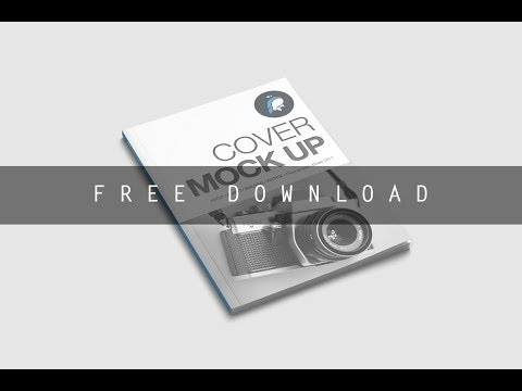 Free Download Cover Magazine Mockup