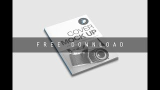 Free Download Cover Magazine Mockup