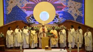 Our Lady of the Rosary Church-Doha Qatar-- Farewell to Rev. Fr.Peter