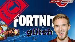 PewDiePie vs T-série Hidden Joke et New Fortnite Glitch Reveal