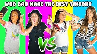 WHO can make the BEST TIKTOK? challenge - Mimi Locks