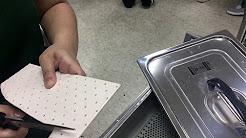 Making a thumb CMC splint