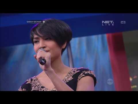 Pongki Barata Ft. Lea Simanjuntak - Menangis Semalam ( Live at Sarah Sechan )