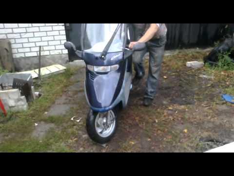 Ремонт Honda Dio Cesta. Часть 1. - YouTube