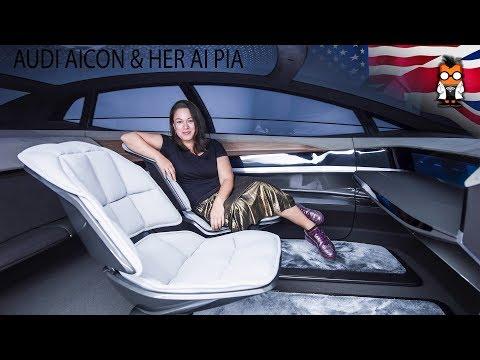 Audi Concept Car Aicon & PIA the empathic AI