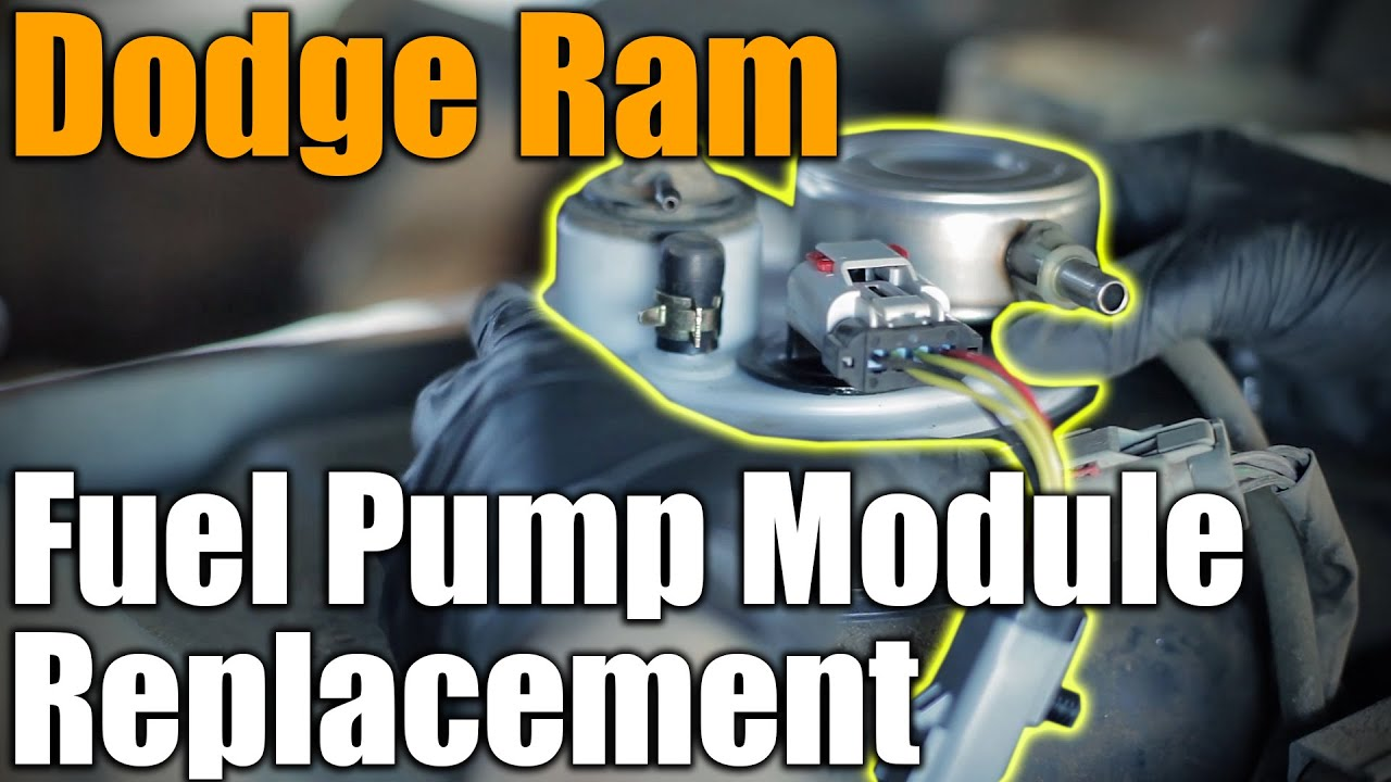small resolution of easy truck bed tilt fuel pump module replacement 1996 dodge ram 1500