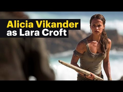 Alicia Vikander as Lara Croft in 'Tomb Raider' - First Look