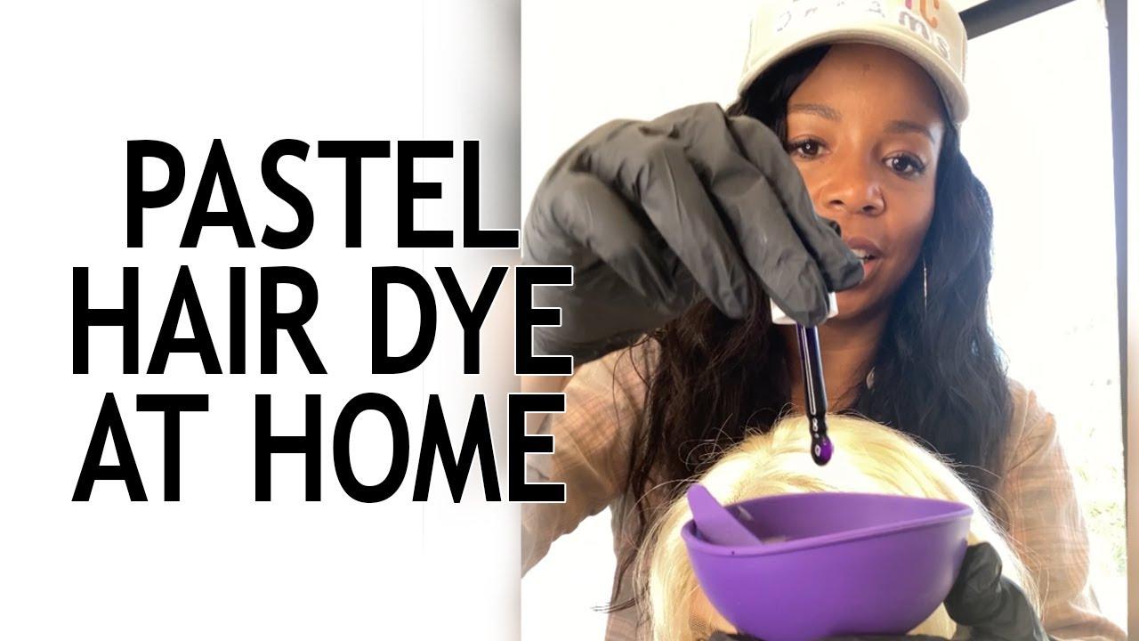 "DIY Hair Dye: Kiyah Wright x Shrine ""Drop It"" Pastels"