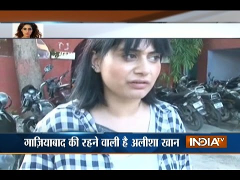 Actress Alisha Khan Reaches Haridwar Seeking for Her Husband