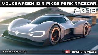 2018 VOLKSWAGEN ID R PIKES PEAK RACECAR Review Rendered Price Specs Release Date