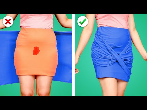 Fix it Up! 10 Smart DIY Clothing Ideas and More Girly Fashion Hacks