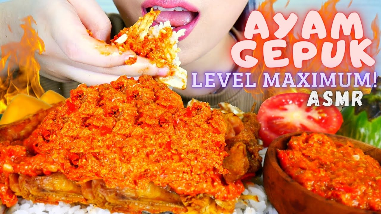 ASMR AYAM GEPUK LEVEL MAKSIMUM | DAMAGE NYA BUKAN MAIN😭 | ASMR INDONESIA