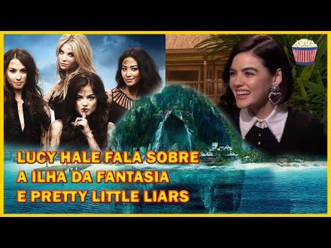 Lucy Hale fala sobre A Ilha da Fantasia e retorno em Pretty Little Liars
