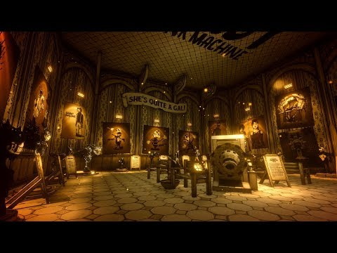(ARCHIVES) Bendy and the Ink Machine CHAPTER 5 'TODOS LOS PERSONAJES - ALL CHARACTERS'