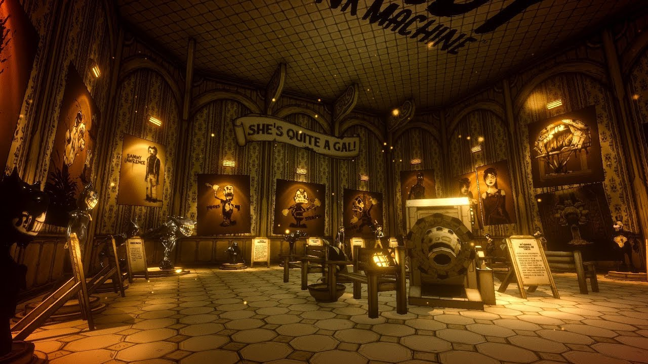ARCHIVES Bendy and the Ink Machine CHAPTER 5 TODOS LOS