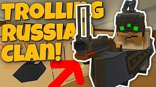 WE TROLLED THE NICEST RUSSIAN CLAN! - Modded Unturned #57