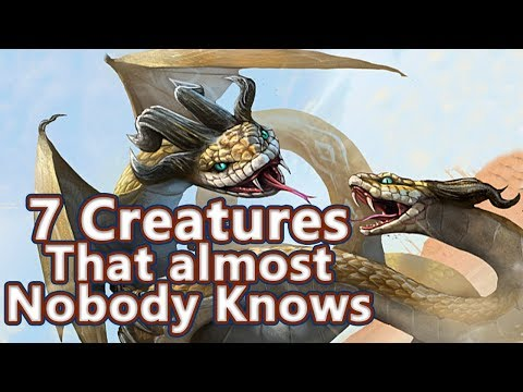 7 Creatures that Almost Nobody Knows in Greek Mythology - See U in History