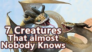 7 Creatures that Almost Nobody Knows in Greek Mythology (Amphisbaen...